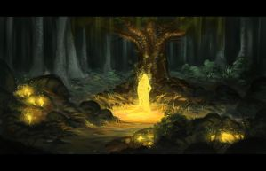 Faerie Forest by Chillalord