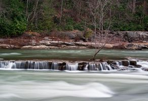 Youghiogheny River at Ohiopyle by LAlight