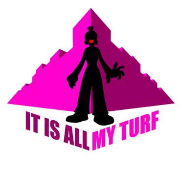 'MY TURF' T-shirt design by supafly345