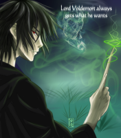 Tom Riddle - 3rd Horcrux by Itygirl