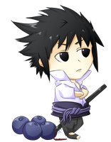 Blueberry Sasuke, Sasberry by whispering-emotions