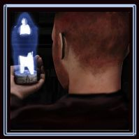 Hologram of Luke Seen By Jedi Mark Tantiss by AG88