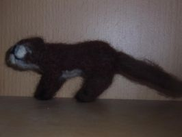 Needle felted river otter plushie by ArcticIceWolf