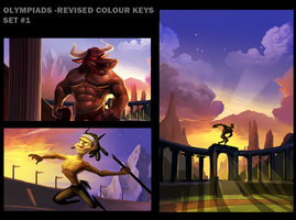 Olympiads - Revised Colour Keys by AlexanderHenderson