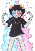Sollux Captor by Ancyd-Watercolour