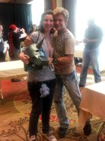 meeting Vic Mignogna! x) by rockinrobin