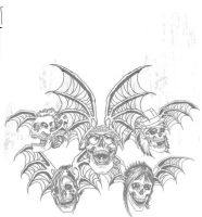 avenged sevenfold deathbat by phantomreaper13