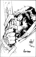 Garrsion from Battle Chasers - Mad - Egli - Inks by SurfTiki