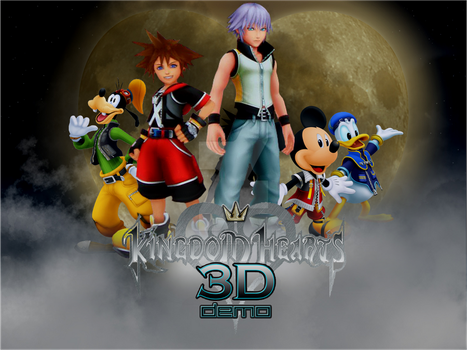 kingdom hearts 3D work by MegaRoxas123