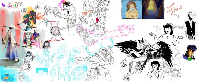 Drawpile sesh from the RCC discord group! by phuvuong