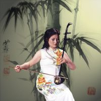 Erhu Album Cover First Draft by noirtatsu