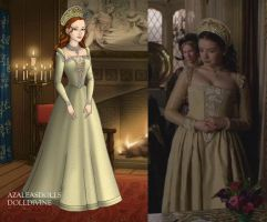 Princess Mary's Butter Yellow Dress by LadyAquanine73551