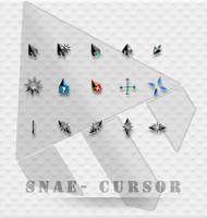 Snae - a black cursor. by tchiro