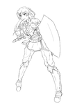 Red Knight Preview by Aijihi