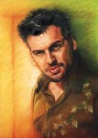 Oded Fehr by Skaramoosh