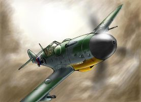 Messerchmitt  Bf 109G by roback