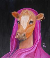 AnnaBelle, the Holy Cow by themanda