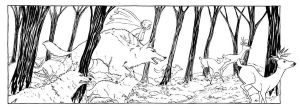 Wolves of Danu- Inks by RachelCurtis