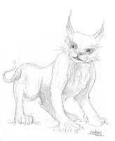 weird beast with funny face by Codynn