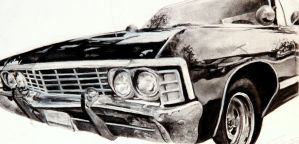 Charcoal Impala by SurpassingSolitude