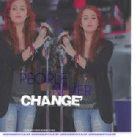 People Never Change by Letsgomiley