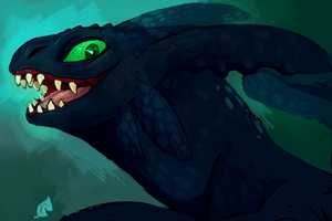 Toothy Grin by astralcookie