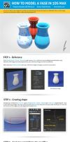 How to model a vase in 3ds Max by chevalierr