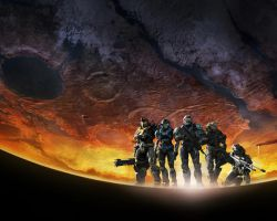Halo Reach Official Wallpaper by cascarosan
