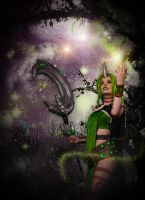 Dryad Soraka - Stars hear me! by KawaiiTine