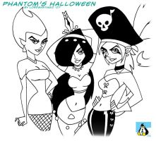 Phantom's Villian Halloween by LordSantiago