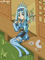 Vocaloid OC Contest - Nada by LVUER