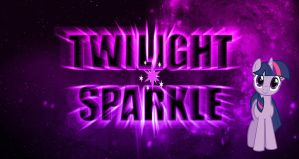 MLP Twilight Sparkle Space Wallpaper by DaChosta
