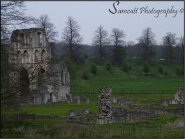 Roche Abbey 2 by Samcatt