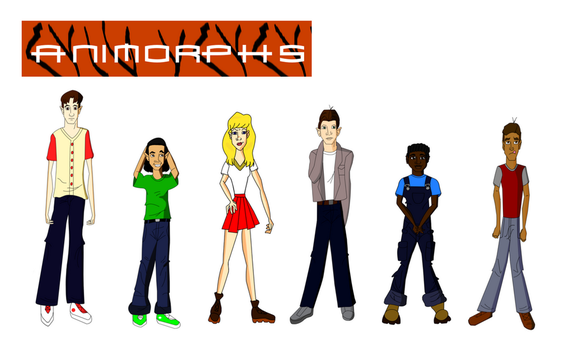 Animorphs The Animated Series  Fan-Made Concept by Mini-Wolfsbane