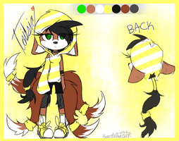 T A I L S I C Re-Design Ref by SketchySketches