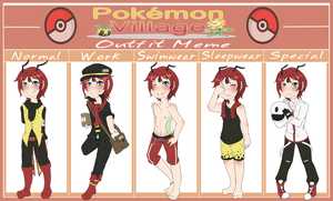.:PV:. Cider's Outfit Meme by TheLostArts