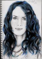 Lena Headey 2 by DarkButSoLovely