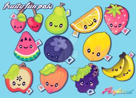 Fruity Fun Pals by marywinkler