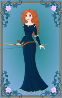 Merida from Brave by Astrogirl500