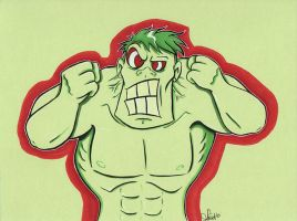 Hulking Out by dsoloud