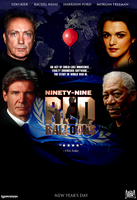 99 Red Balloons Movie Poster by MrAngryDog