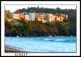 Cliff Houses at Sunset by KLR620