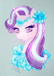 Starlight Glimmer bust by Auriaslayer