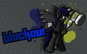 Fighting is Magic: Blackout by Turbo740
