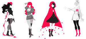 RWBY by undefined-species
