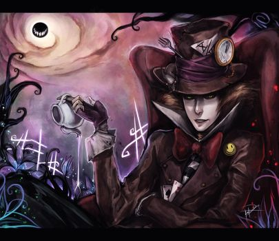 Alice In Wonderland: Hatter by Ninjatic