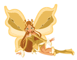 Flora Gold Lovix (Very large Version) by Supremechaos918