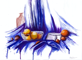 Colored still Life by dneira