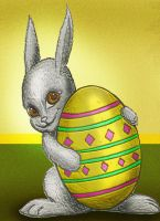 Easter Bunny 2014 by Rene-L