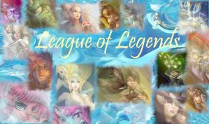 League of Legends x3 by GeckiGewaldro